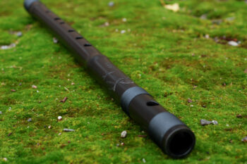 bamboo bansuri black