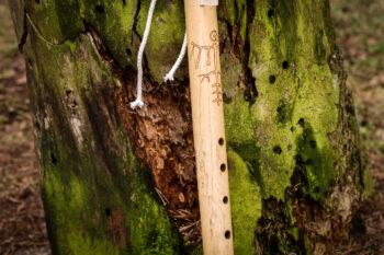 native american flute bamboo E